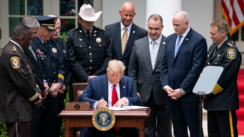 Donald Trump Executive Signing